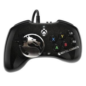 خرید کنترلر Wired Fight Pad مخصوص Xbox One طرح بازی Mortal Kombat X