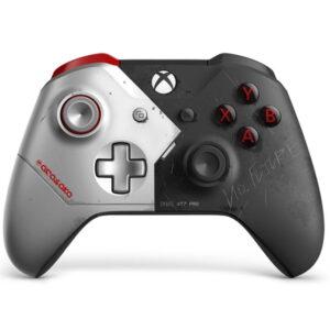 خرید کنترلر Xbox One - طرح ویژه بازی Cyberpunk 2077 نسخه محدود