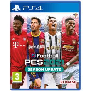 خرید آپدیت PES 2021 برای PS4