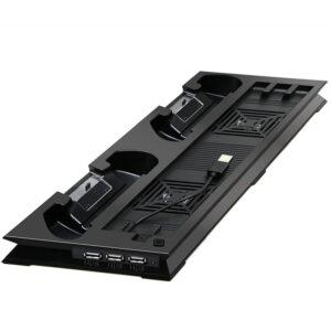 خرید پایه نگهدارنده پلی استیشن 4 پرو   دارای فن خنک کننده