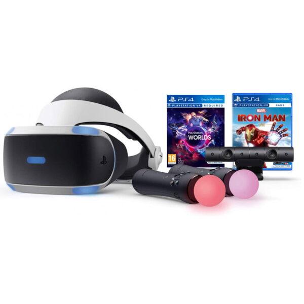 خرید پلی استیشن VR | سری جدید باندل بازی های Iron Man و PlayStation VR Worlds
