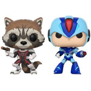 خرید عروسک POP! - شخصیتهای Rocket و Mega Man X