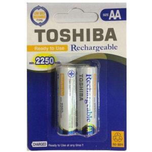 خرید باتری قلمی توشیبا- قابل شارژ - 2250 میلی آمپر ساعت